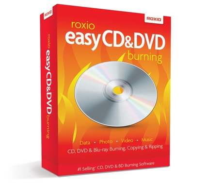 Image of Corel Roxio Easy CD & DVD Burning 1U