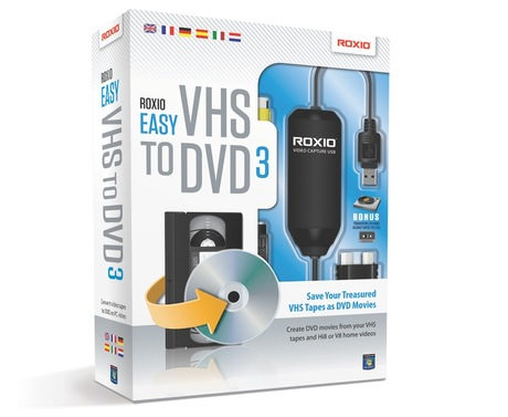 Image of Corel Roxio Easy VHS to DVD 3 1U
