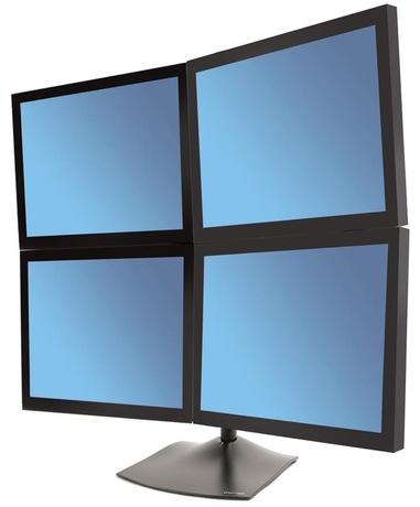 Image of Ergotron DS100 Standfuß 4 Monitore