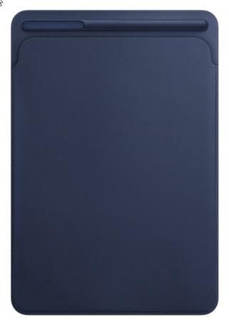 Image of Apple iPad Pro 10.5 Leder Sleeve blau