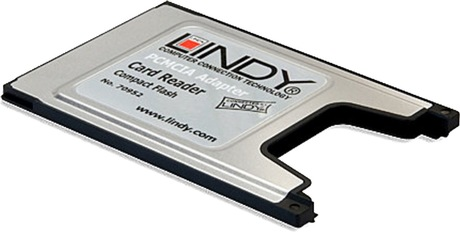 Image of LINDY CompactFlash PC Card Adapter