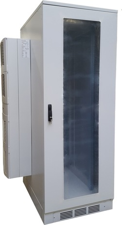 Image of Lehmann Klimaschrank 42U, 1000W, seitl.