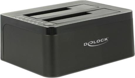 Image of Delock USB 3.0 SATA Docking/Klon Station