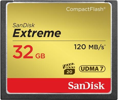 Image of SanDisk Extreme 32 GB CF Karte