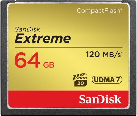 Image of SanDisk Extreme 64 GB CF Karte