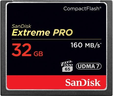 Image of SanDisk Extreme PRO 32 GB CF Karte