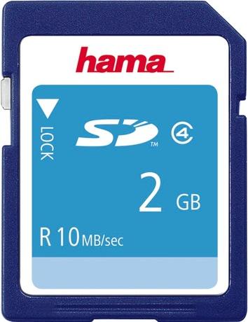 Image of Hama 2 GB Class 4 SD Karte