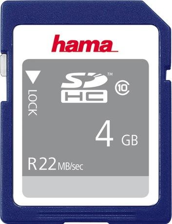 Image of Hama 4 GB Class 10 SDHC Karte