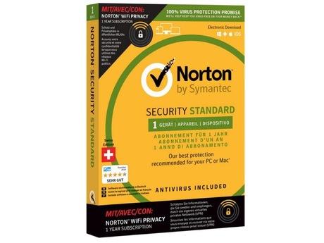 Image of Norton Sec. Std 3.0 1U 1Dev & WIFI Priv. (Schweizer Ausführung)