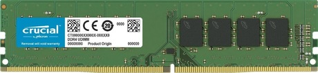 Image of Crucial 16 GB DDR4 2400 MHz Speicher
