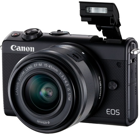Image of Canon EOS M100 + EF-M 15-45 Kit schwarz