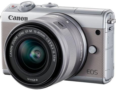 Image of Canon EOS M100 + EF-M 15-45 Kit grau