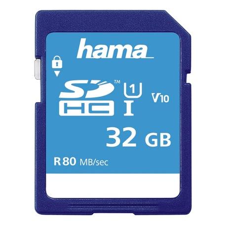 Image of Hama Memory Fast 32 GB SDHC Karte
