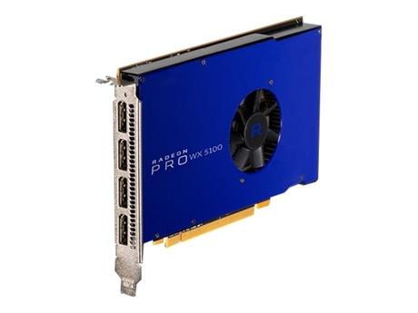 Image of AMD Radeon Pro WX 5100 Grafikkarte