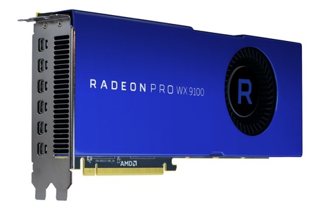 Image of AMD Radeon Pro WX 9100 Grafikkarte