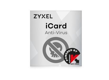 Image of ZyXEL E-iCard Kaspersky AV Zywall USG300