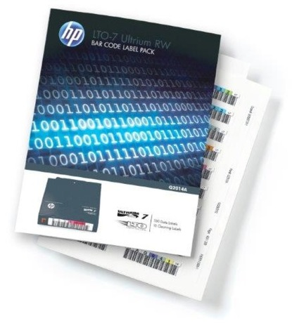 Image of HP Ultrium 7 Barcode Label-Pack (100+10)