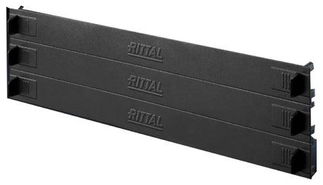 Image of Rittal Blindblenden-Kit 3x 3U, RAL 9005