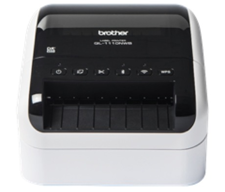 Image of Brother QL-1110NWB Drucker