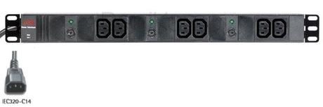 Image of AEG Steckdosenleiste 6fach 10A, IEC
