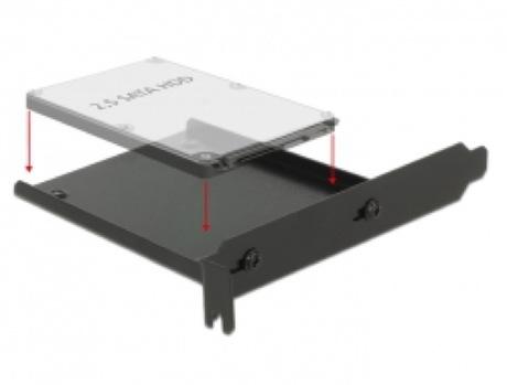"""Image of Delock 6,4cm (2,5"""") PC Slot Einbaurahmen"""
