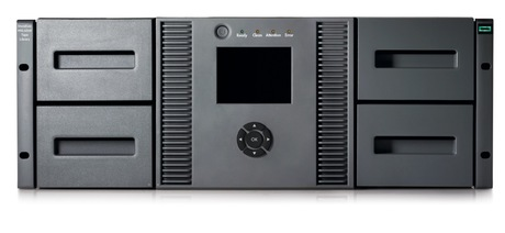 Image of HPE StoreEver 6250 LTO-6 MSL4048 Library