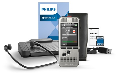 Image of Philips DPM 6700 Diktiergerät Set