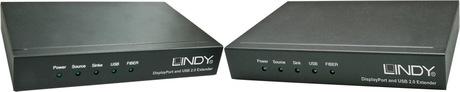 Image of LINDY DisplayPort LWL KVM-Extender 200 m