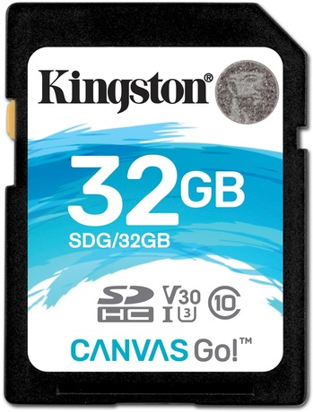 Image of Kingston Canvas Go 32 GB SDHC