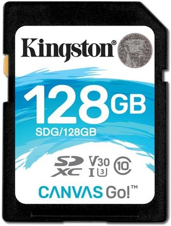Image of Kingston Canvas Go 128 GB SDXC