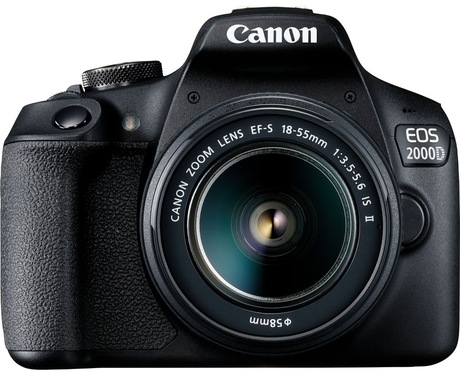 Image of Canon EOS 2000D + EF-S 18-55mm IS II Kit