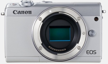 Image of Canon EOS M100 Kamera Body weiß