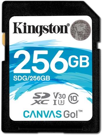 Image of Kingston Canvas Go 256 GB SDXC