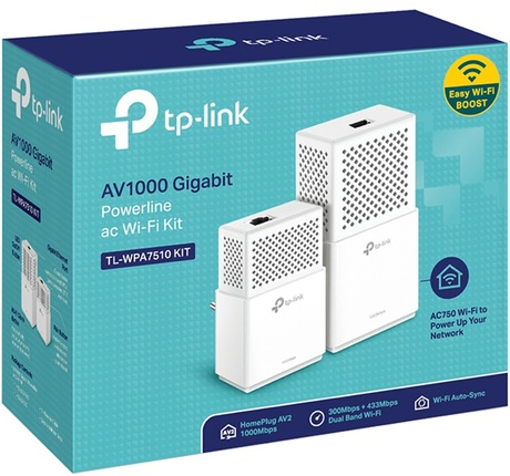 Image of TP-LINK TL-WPA7510 Powerline Starter Kit