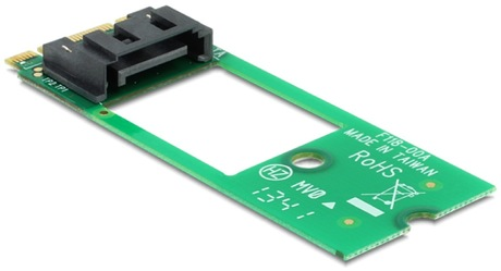 Image of Delock M.2 NGFF - SATA 7 Pin Adapter