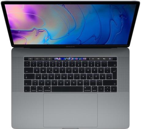Image of Apple 15 MacBook Pro 256 GB spacegrau (Schweizer Ausführung)