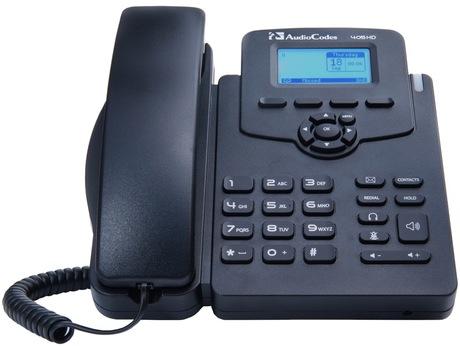 Image of AudioCodes 405HD SfB IP-Telefon