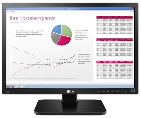 LG 22BK55WD-B Monitor - 4 Jahre Garantie