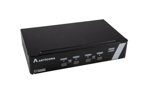 Image of ARTICONA KVM-Switch DP, USB 4-Port