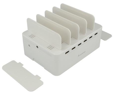 Image of ARTICONA USB-Ladestation 6Port weiß