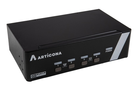 Image of ARTICONA KVM-Switch Dual DP, USB 4-Port