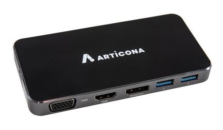 Image of ARTICONA USB-C Docking, HDMI/VGA/DP