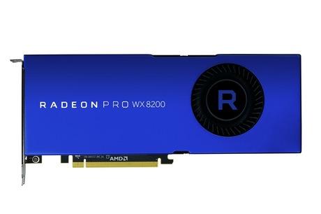 Image of AMD Radeon Pro WX 8200 Grafikkarte