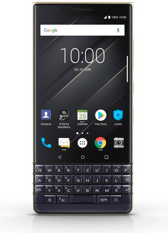 Image of BlackBerry KEY2 LE Smartphone champagne