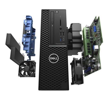 Image of Dell Precision Tower 3430 Workstation