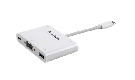 Image of Adapter USB 3.0 Typ C St - VGA/USB Bu