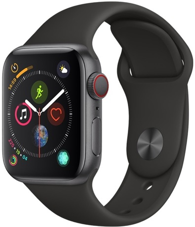 Image of Apple Watch S4 Cell 40mm spacegrau