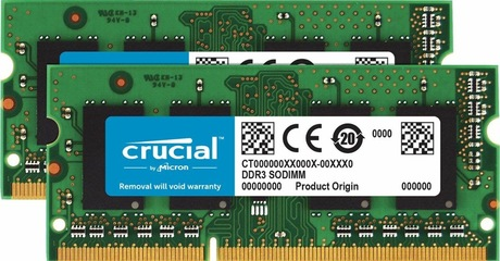 Image of Crucial 16 GB DDR3 1600 MHz Speicher