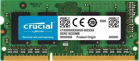 Image of Crucial 2 GB DDR3L 1600 MHz Speicher