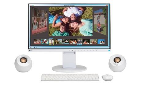 Image of EIZO EV2450 i3 Workstation Home weiss